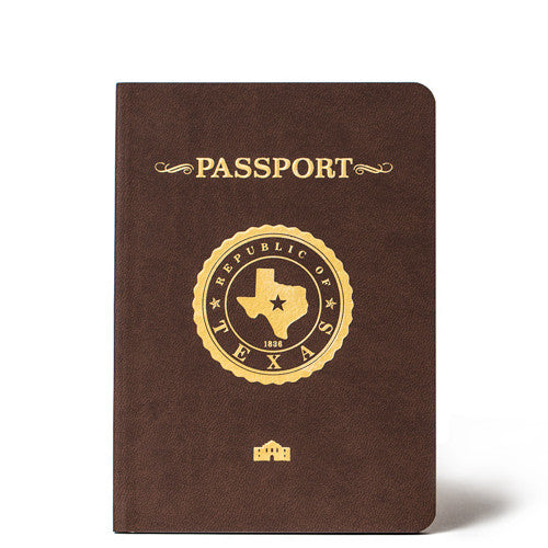 Republic of Texas Passport foil cover