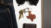 Texas Saddle Shop Keychain
