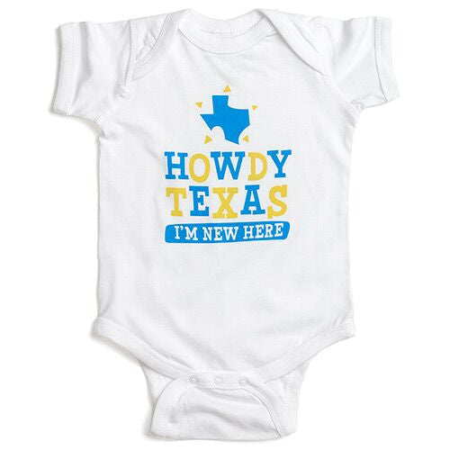 Mommy's Lone Star Collection Onesies
