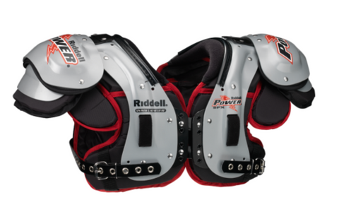 RIDDELL POWER SPK + RB/DB PRO/COLLEGE SHOULDER PADS