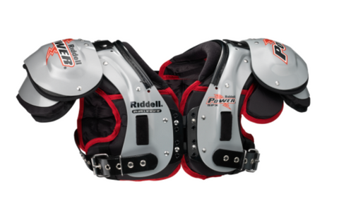 RIDDELL POWER SPK + LB/FB PRO/COLLEGE SHOULDER PADS