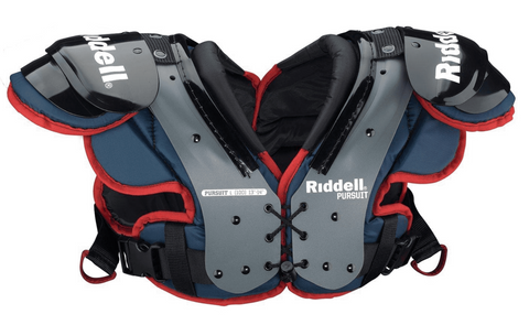 RIDDELL PURSUIT YOUTH SHOULDER PADS