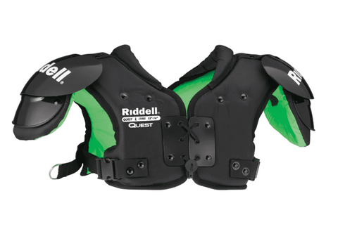 RIDDELL QUEST YOUTH SHOULDER PADS