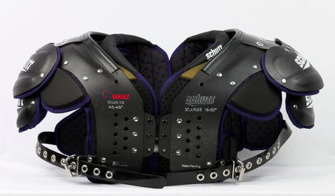 SCHUTT O2 MAXX SHOULDER PADS (X-LARGE)