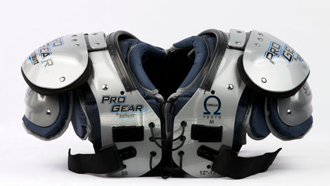 PRO GEAR OMEGA YOUTH SHOULDER PADS (MEDIUM)