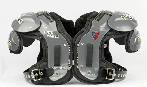 SCHUTT PL-65 OL/DL SHOULDER PADS (X-LARGE)