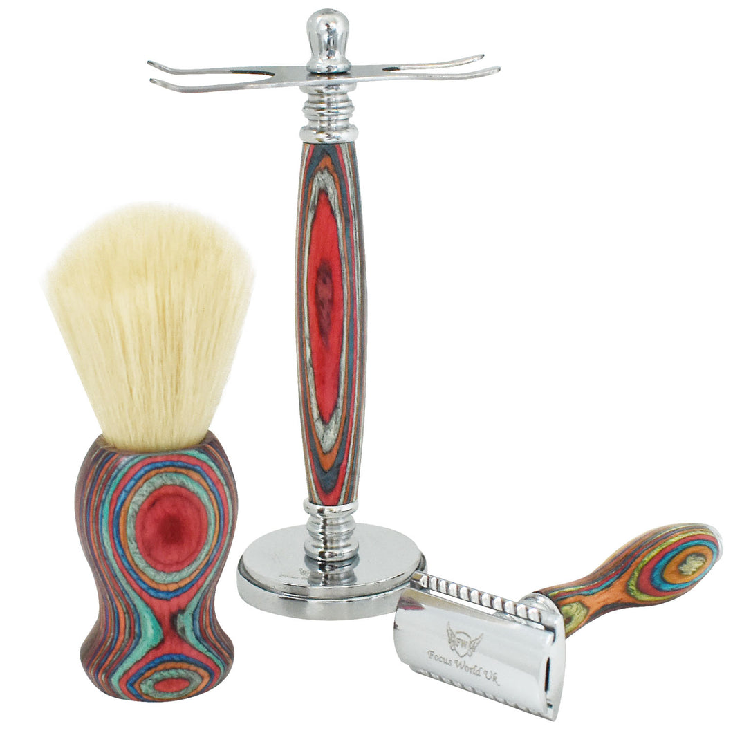 FocusWorld™ Gentlemen Shaving Set