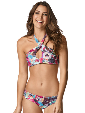 Style 113 - CUYAGUA HALTER CROSSED FRONT