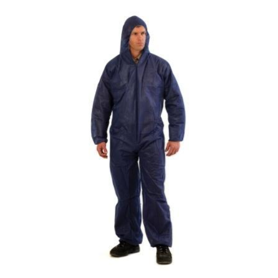 PROVEK DISPOSABLE COVERALLS BLUE - XLRG