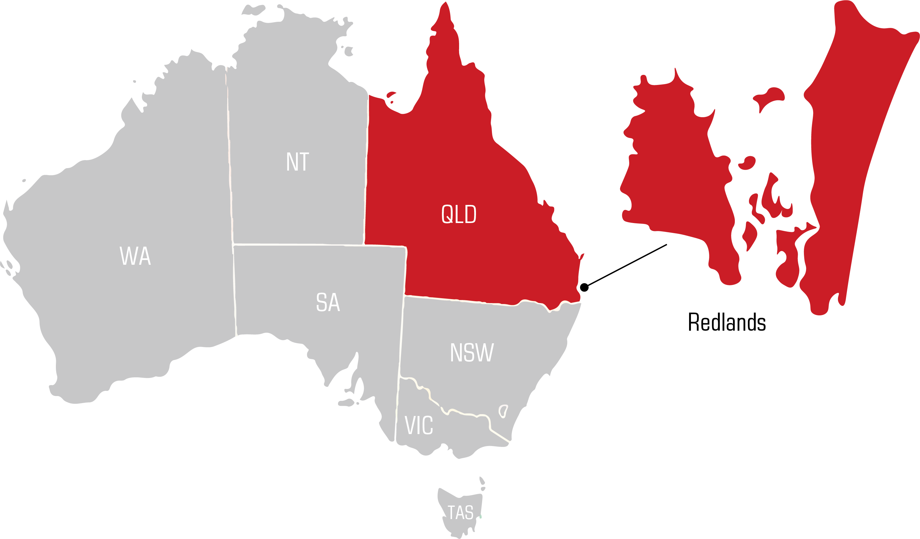 QWS capalaba Welding Supplies map