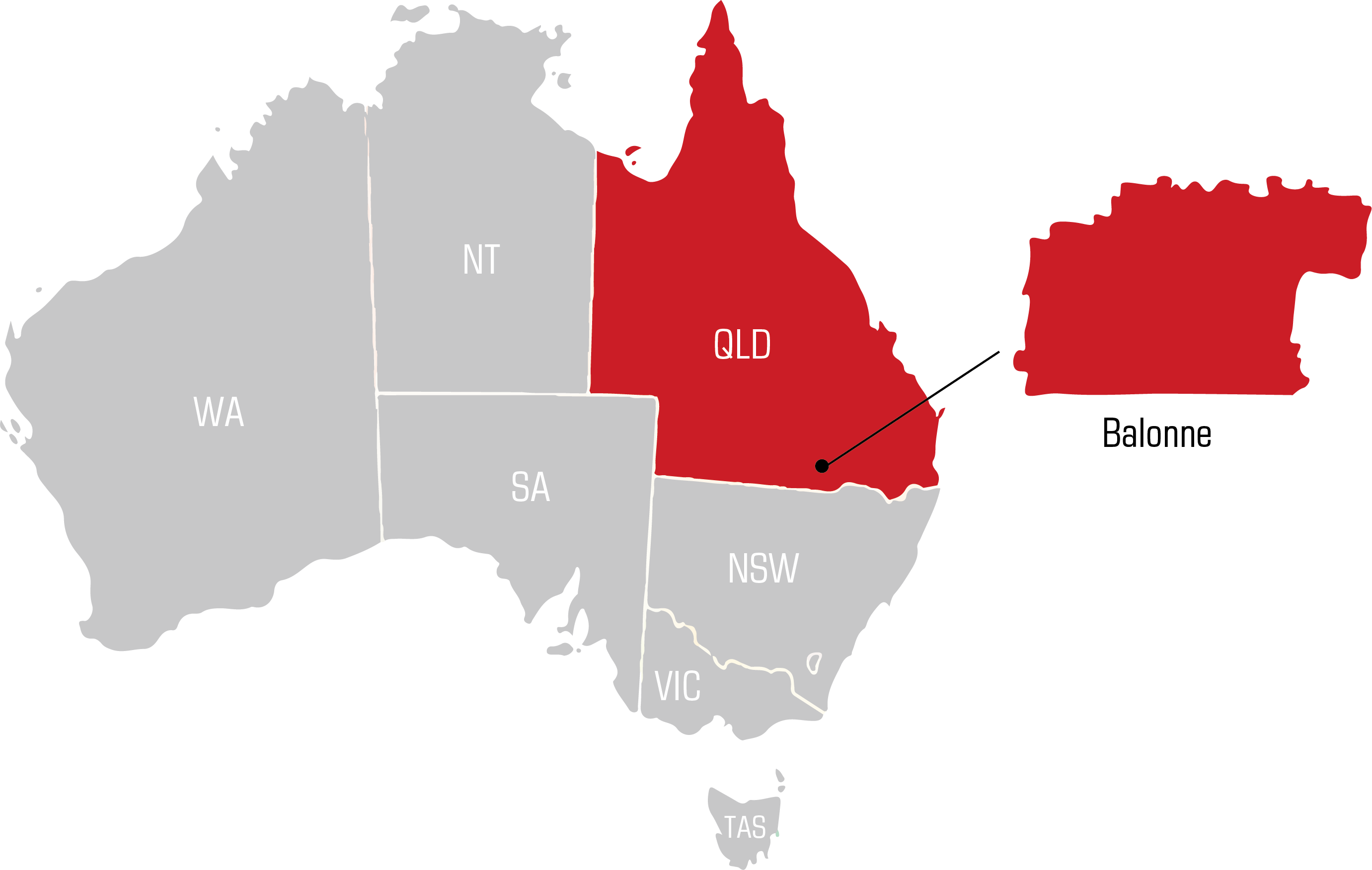 QWS moree Welding Supplies map