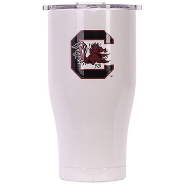 South Carolina 27oz Chaser Pearl/Clear
