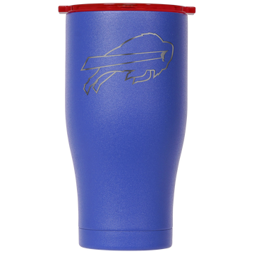 Buffalo Bills Blue/Red Etched Chaser 27oz