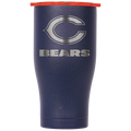 Chicago Bears Navy/Orange Etched Chaser 27oz