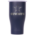 Dallas Cowboys Navy/White Etched Chaser 27oz