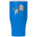 Detroit Lions Blue/White Etched Chaser 27oz