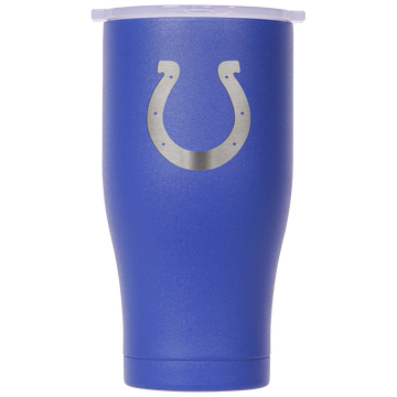 Indianapolis Colts Blue/White Etched Chaser 27oz