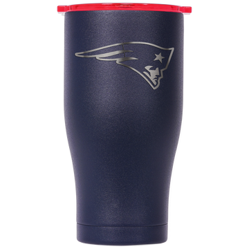 New England Patriots Navy/Red Etched Chaser 27oz