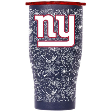 Chaser 27oz Navy/Red White Floral Sketch New York Giants