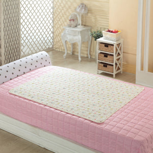 Organic Cotton Baby Quilted Waterproof Mat