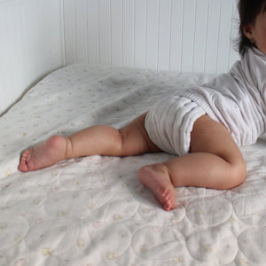 Organic Cotton Diaper Belt Top