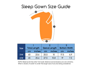 Organic Cotton Sleep Gown