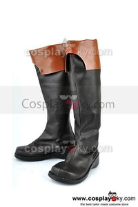 07-GHOST Teito Klein Cosplay Stiefel Schuhe