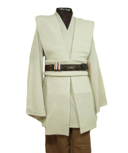 Star Wars Kenobi Jedi TUNIC Cosplay Kostüm Tunika Set NEU