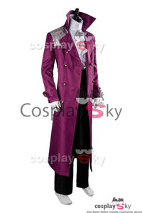 Prince Rogers Nelson Purple Rain Coat Full Set Kostüm Cosplay Lila