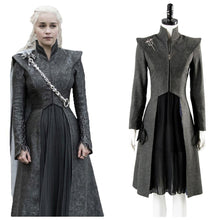 Laden Sie das Bild in den Galerie-Viewer, GOT Game of Thrones Staffel 8 Daenerys Targaryen Cosplay Kostüm NEU Version