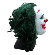Laden Sie das Bild in den Galerie-Viewer, Batman Joker Dark knight Crown Maske Kopfbedeckung Cosplay Requsite Grün