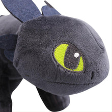 Laden Sie das Bild in den Galerie-Viewer, Drachenzähnen Leicht Gemacht 3 How to train your dragon Ohnezahn Toothless Plüsche Puppe Doll