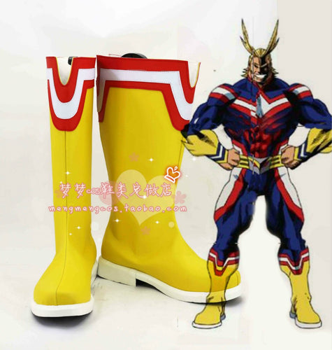 Boku no Hero Academia My Hero Academia: Two Heroes Young All Might Schuhe Cosplay Schuhe Stiefel