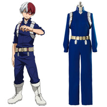 Laden Sie das Bild in den Galerie-Viewer, Boku no Hero Academia My Hero Academia S2 Shoto Shouto Todoroki Trainingsanzug Cosplay Kostüm