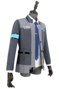Detroit: Become Human Connor RK800 Agent Suit Uniform Cosplay Kostüm