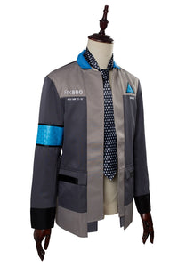Detroit: Become Human Connor RK800 Deviant Hunter Agent Uniform Top Cosplay Kostüm