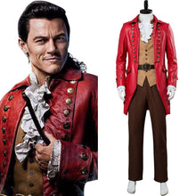 Laden Sie das Bild in den Galerie-Viewer, Die Schöne und das Biest Gaston Kostüm Luke Evans Cosplay Kostüm Beauty and the Beast