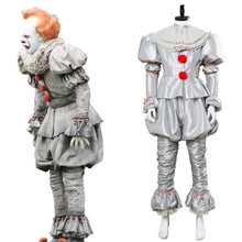 Laden Sie das Bild in den Galerie-Viewer, Es: Kapitel 2 Film 2019 Horrorclown Pennywise The Clown Outfit Cosplay Kostüm NEU Version