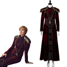 Laden Sie das Bild in den Galerie-Viewer, GOT8 Game of Thrones Staffel 8 Cersei Lannister Cersei Baratheon Kostüm Version C Rot Kleid Delux
