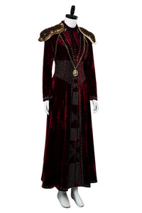 GOT8 Game of Thrones Staffel 8 Cersei Lannister Cersei Baratheon Kostüm Version C Rot Kleid Delux