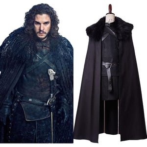 Game of Thrones GoT Jon Snow Jon Schnee Nacht Seher Outfit Cosplay Kostüm
