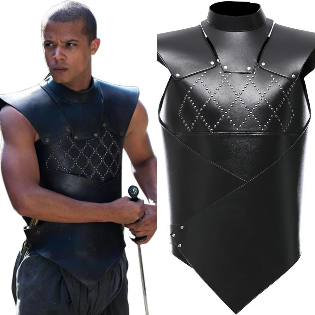 Game of Thrones Grauer Wurm Grey Worm Weste Cosplay Kostüm