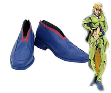 Laden Sie das Bild in den Galerie-Viewer, JoJo no Kimyō na Bōken JoJo's Bizarre Adventure: Golden Wind Pannacotta Fugo Cosplay Schuhe Stiefel
