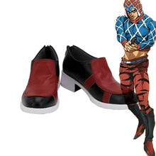 Laden Sie das Bild in den Galerie-Viewer, Jotaro Kujo JoJo's Bizarre Adventure: Golden Wind Guido Mista Schuhe Cosplay Schuhe