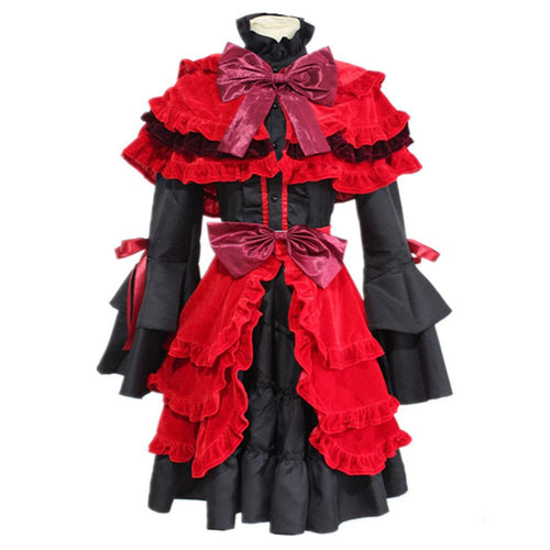 K Return of Kings Kushina Anna Kleid Cosplay Kostüm Rot
