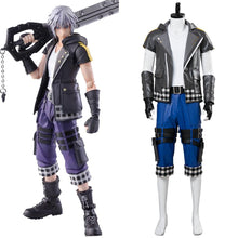 Laden Sie das Bild in den Galerie-Viewer, Kingdom Hearts III Riku NEU Set Cosplay Kostüm