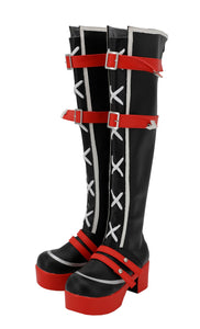 Love Live ! Aqours Punk Rock Ver. Cosplay Schuhe Stiefel