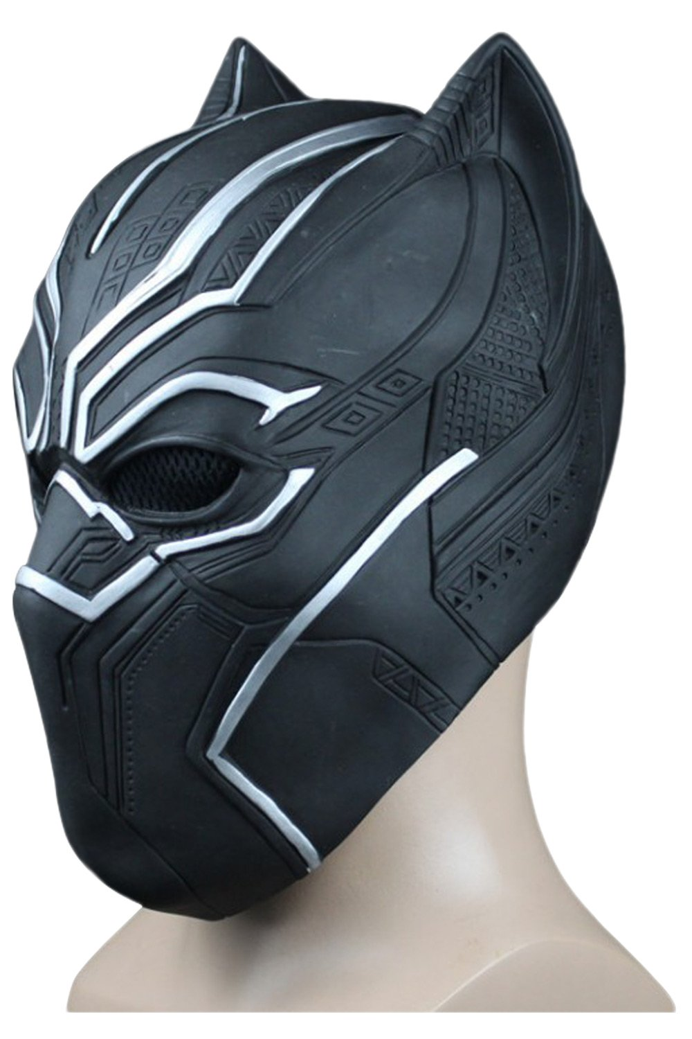 Marvel 2018 Black Panther T'Challa Maske Cosplay Requisite