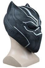 Laden Sie das Bild in den Galerie-Viewer, Marvel 2018 Black Panther T'Challa Maske Cosplay Requisite