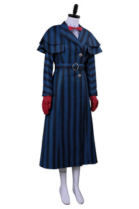 Mary Poppins' Rückkehr Mary Poppins Returns (2018) Mary Poppins Cosplay Kostüm
